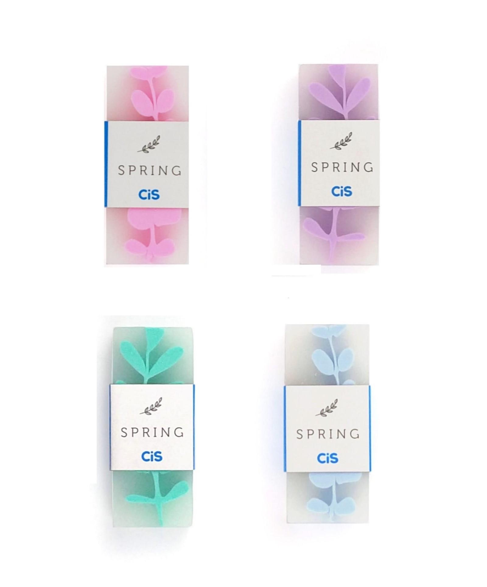 Borracha Spring Cores Pasteis - Lilás