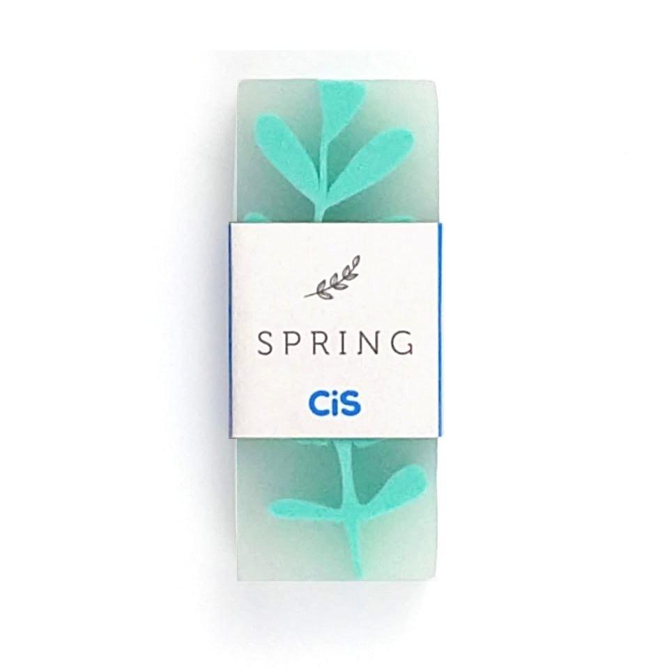 Borracha Spring Cores Pasteis - Verde
