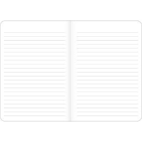 Caderneta Brochura Soho32 Fls Poa Azul