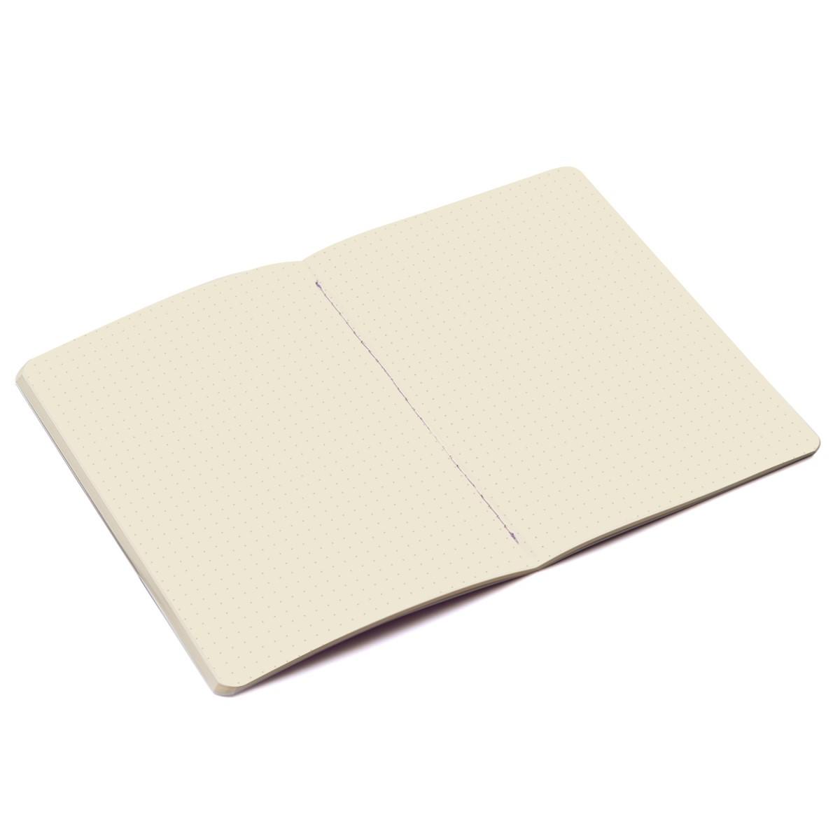 Caderneta Lilás Degrade