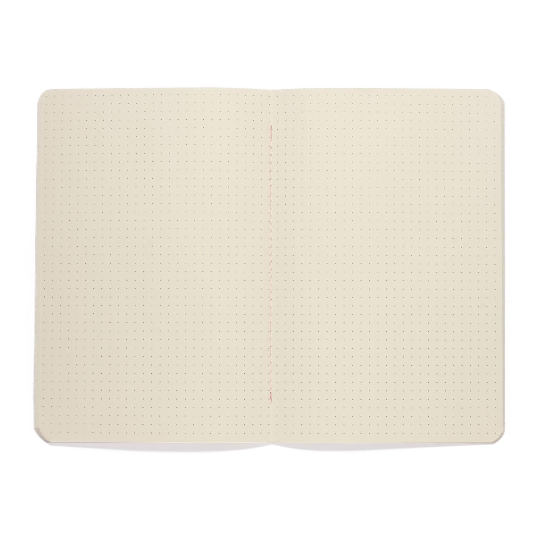 Caderneta Terrazzo Rosa