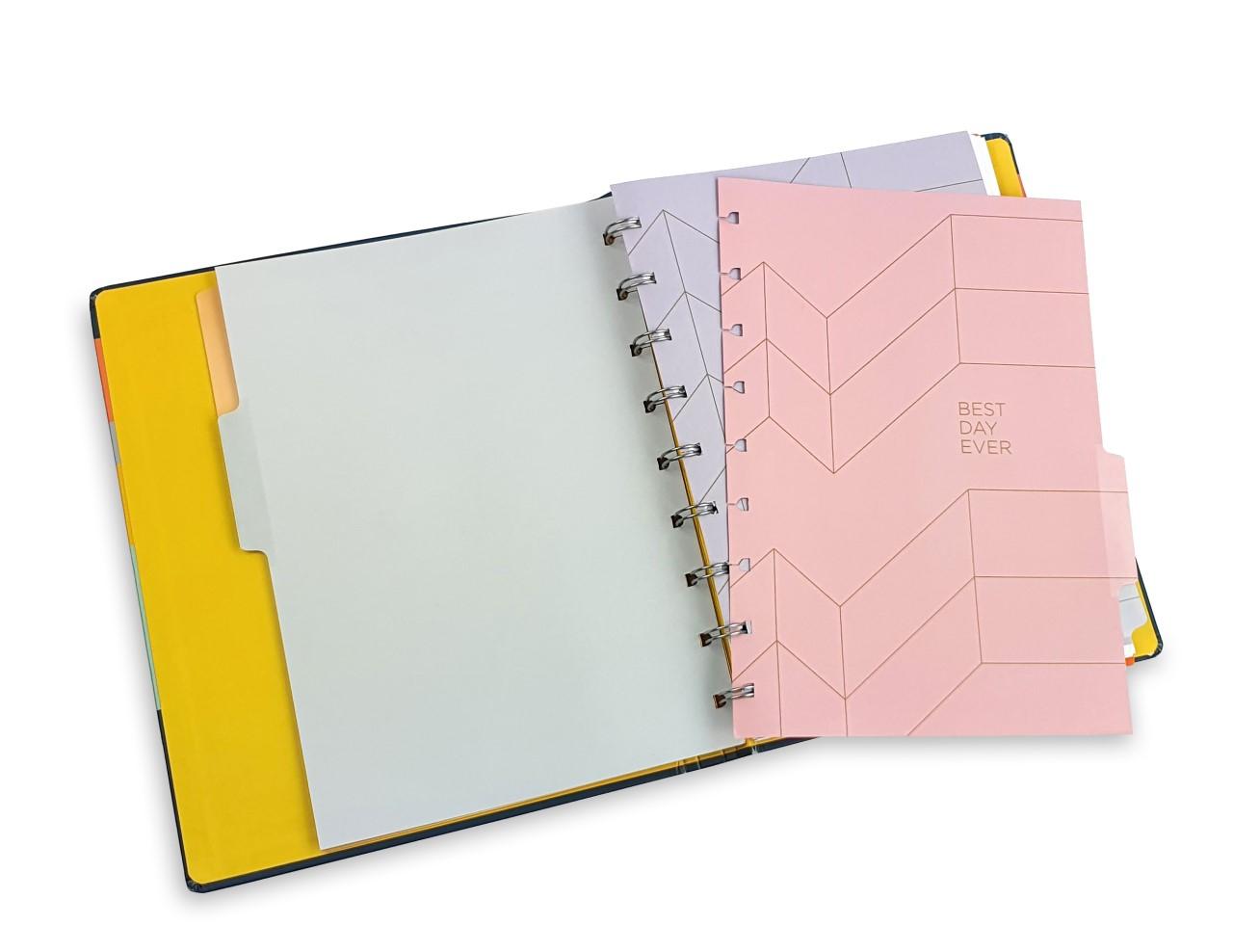 Caderno Allegro Listras System Flex