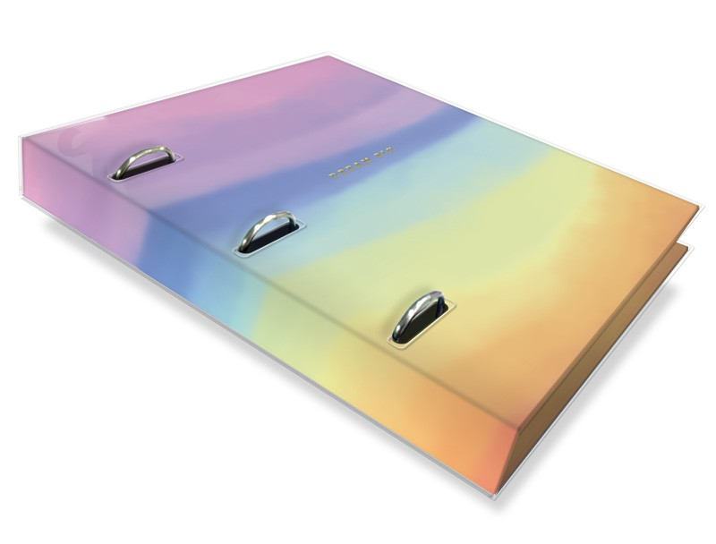 Caderno Argolado Tie Dye