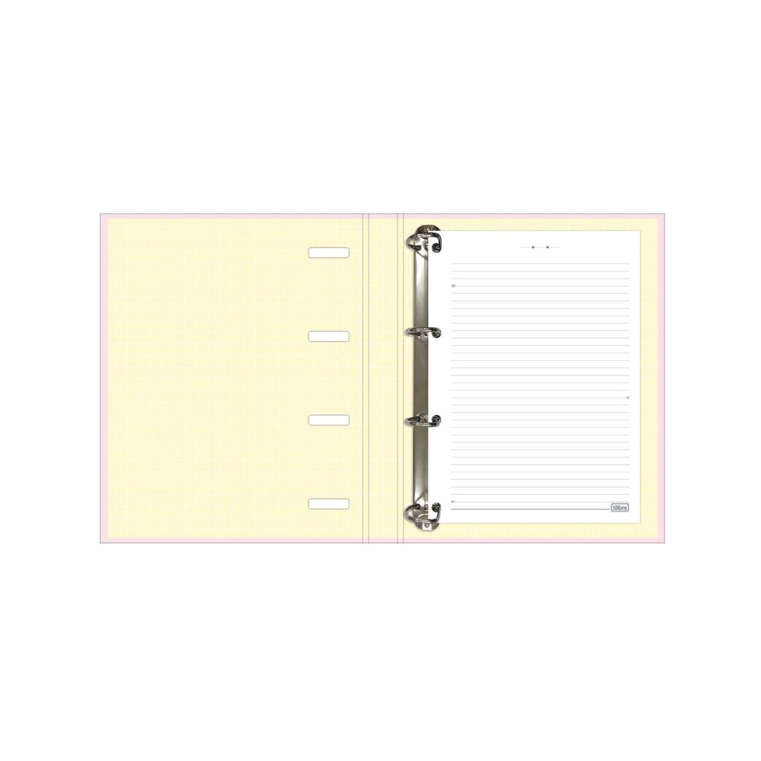 Caderno Argolado Universitário Happy
