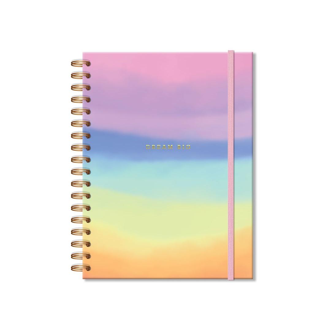 Caderno Colegial 96 fls Tie Dye