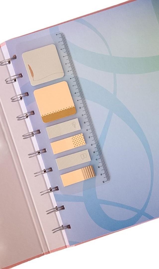 Caderno Cotton Azul System Flex Grande
