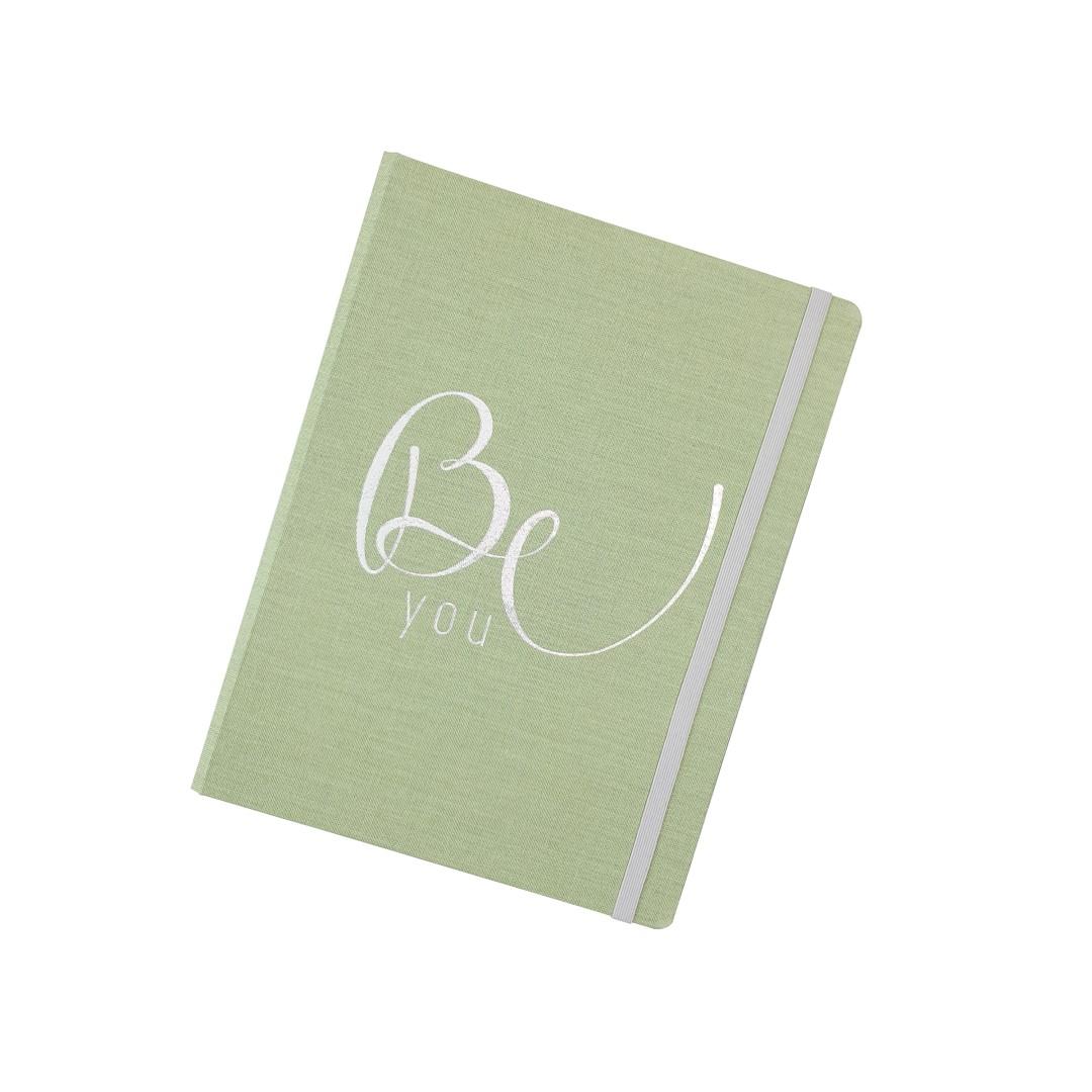 Caderno Cotton Verde System Flex