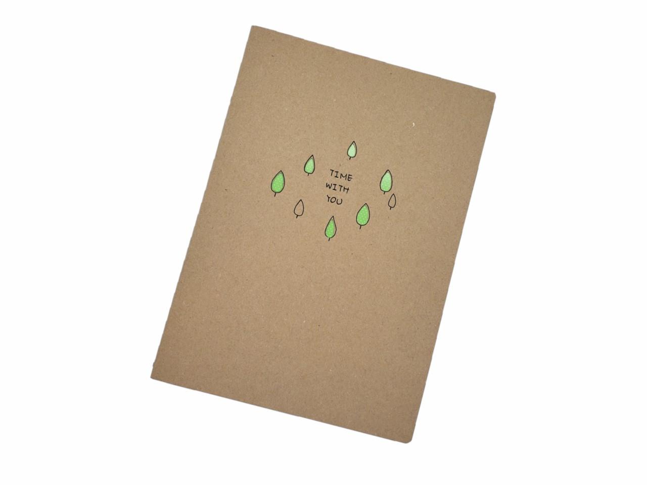 Caderno Estampado Árvore
