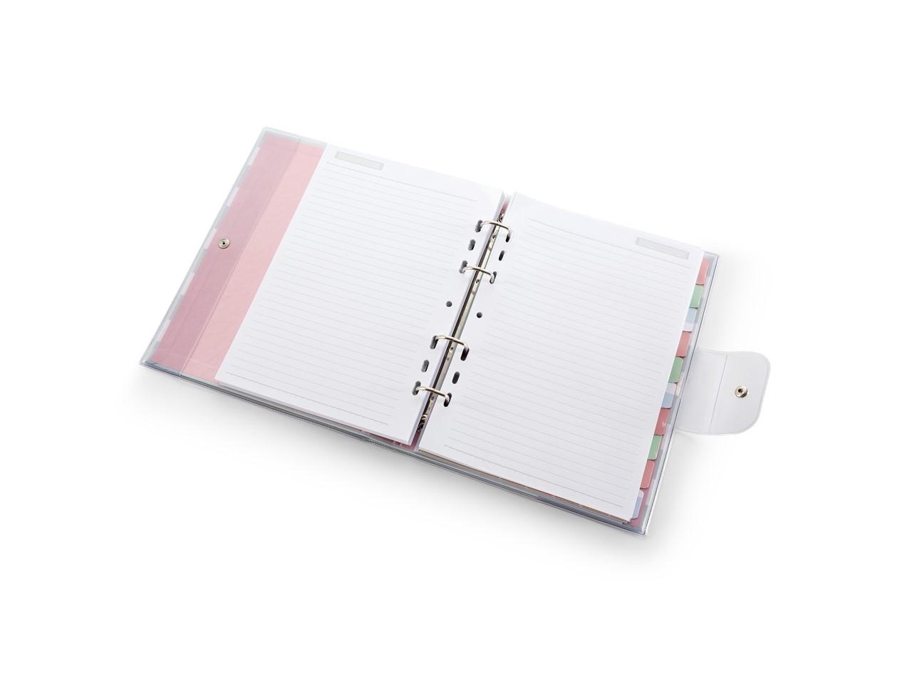 Caderno Fichário Riccio PVC Listrado