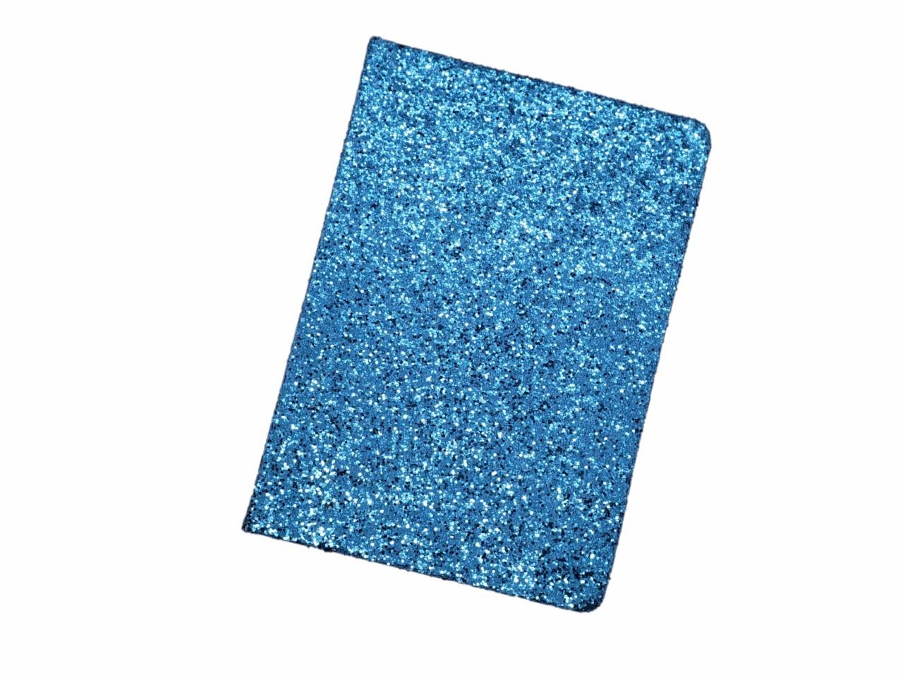 Caderno Glitter Azul