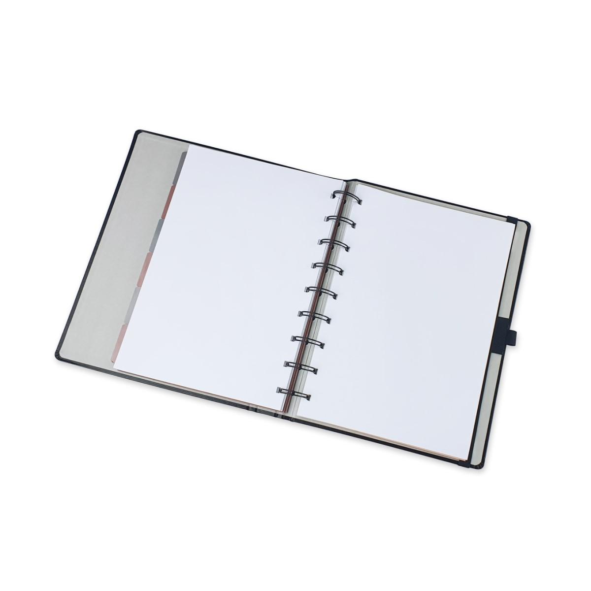 Caderno Noir Pena System Flex