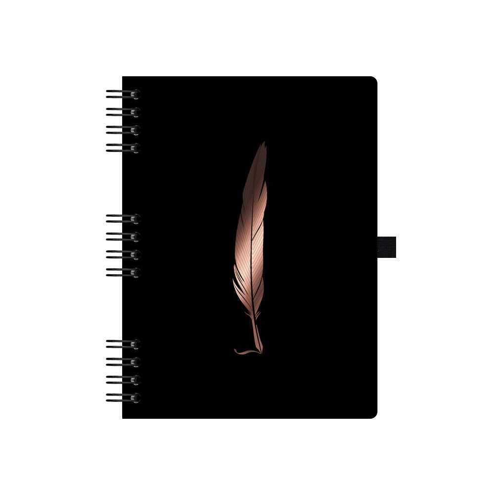Caderno Noir Ultra Pena 90fls
