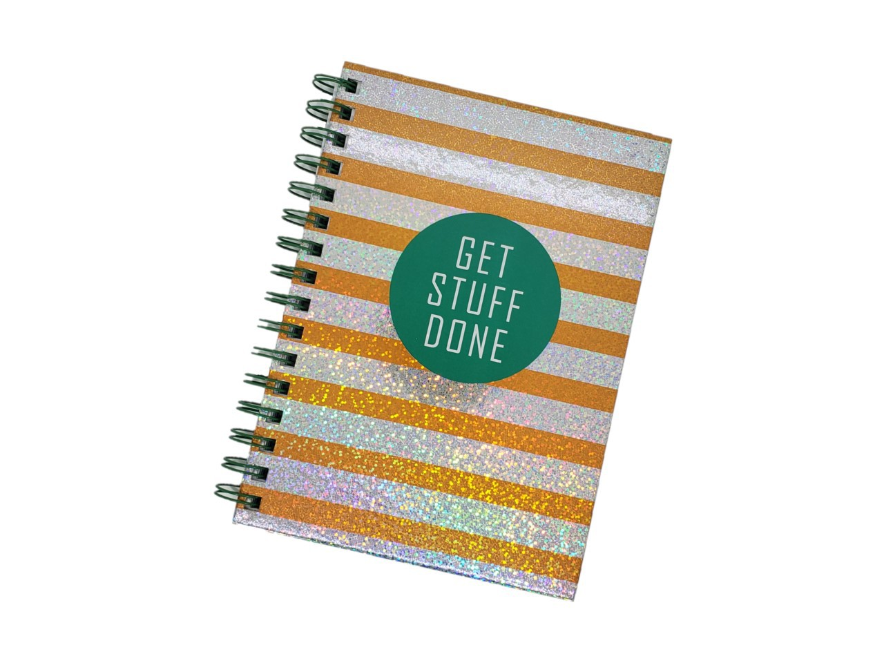 Caderno Ouro Get Stuff Done