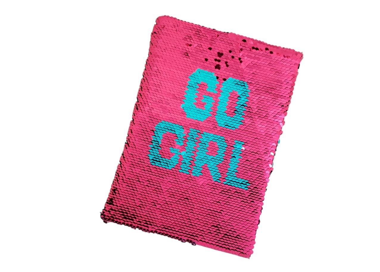 Caderno Paete Go Girl