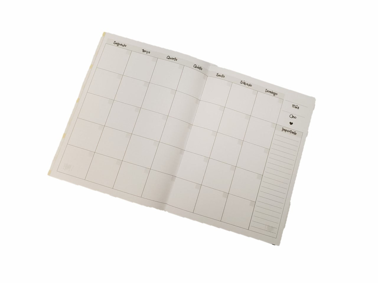Caderno Planner Mensal Bicho Preguiça