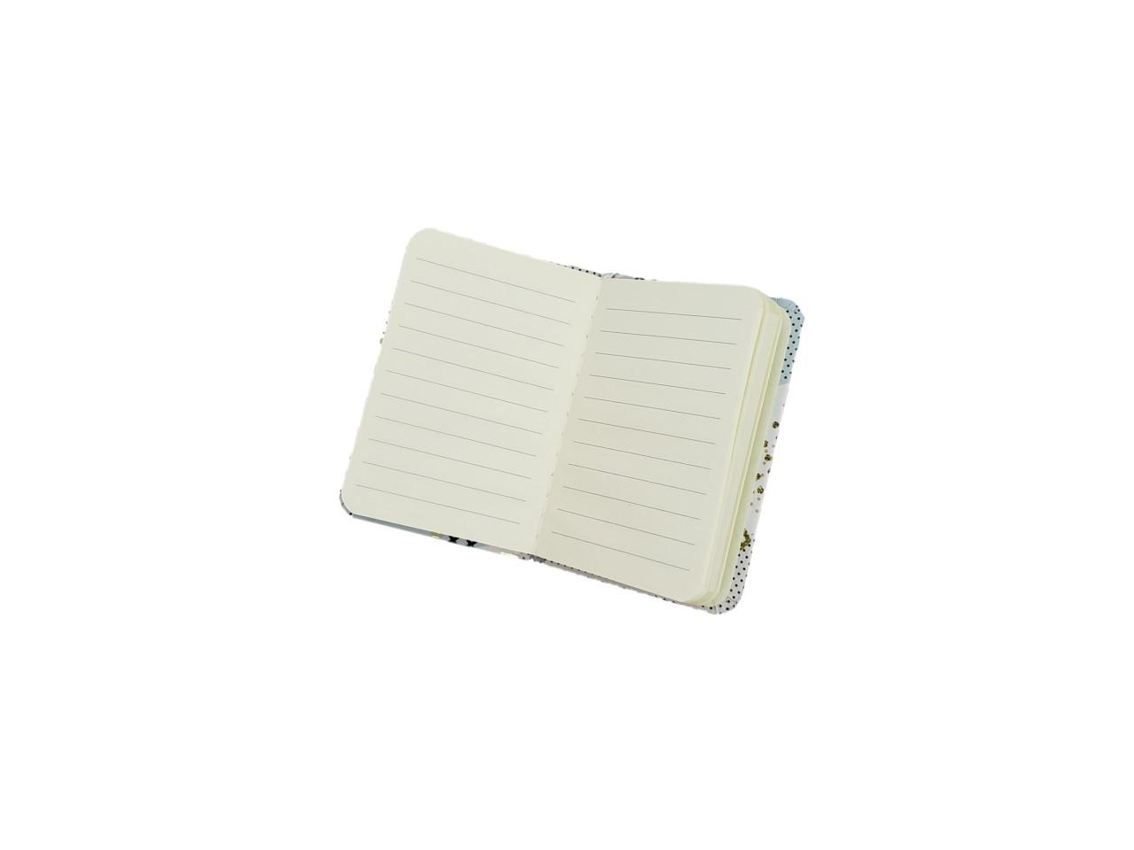 Caderno Poa Preto Peq