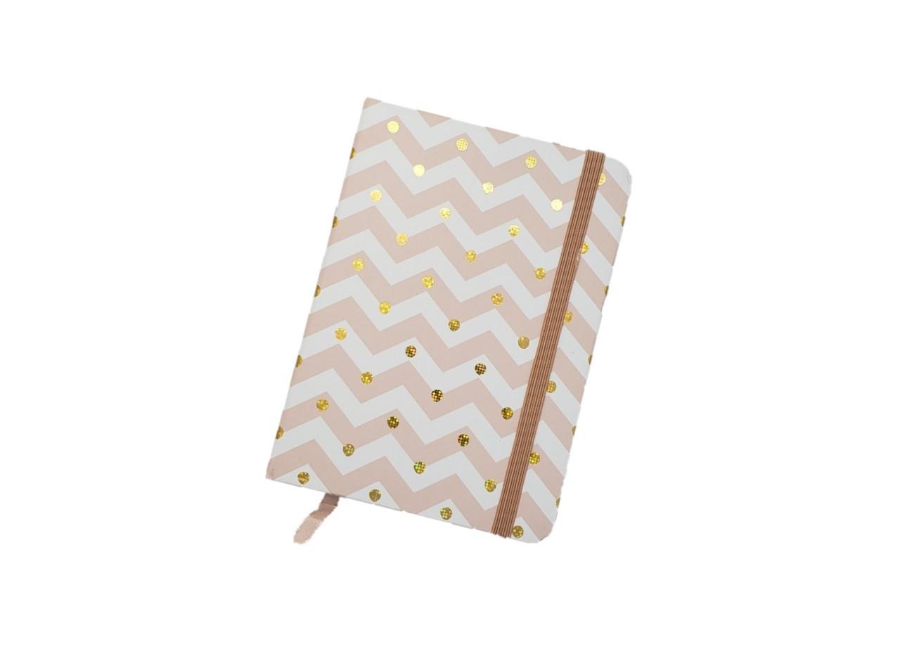 Caderno Pontinhos Dourados