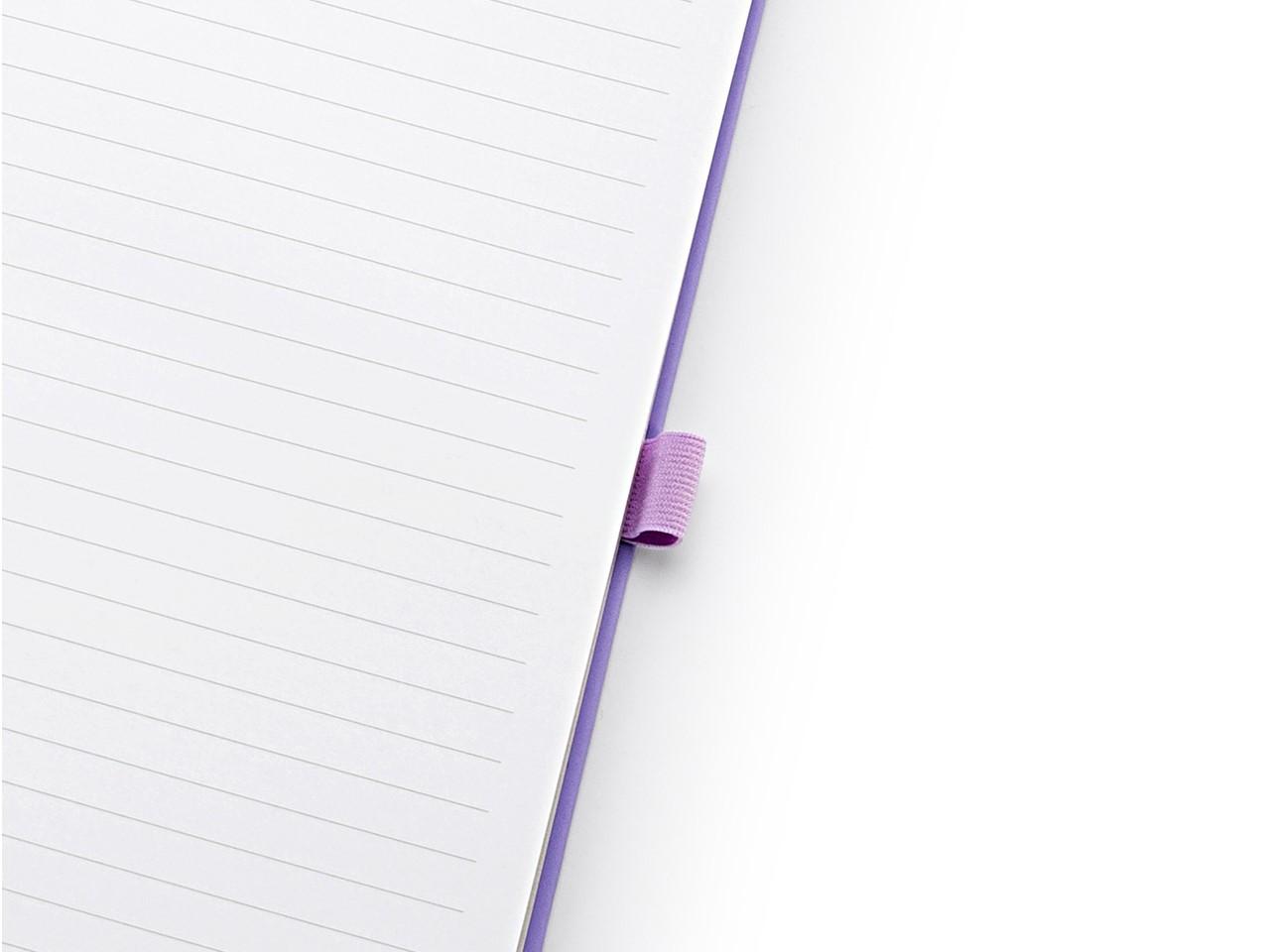Caderno Romantic 90 Folhas Pautadas Lilás