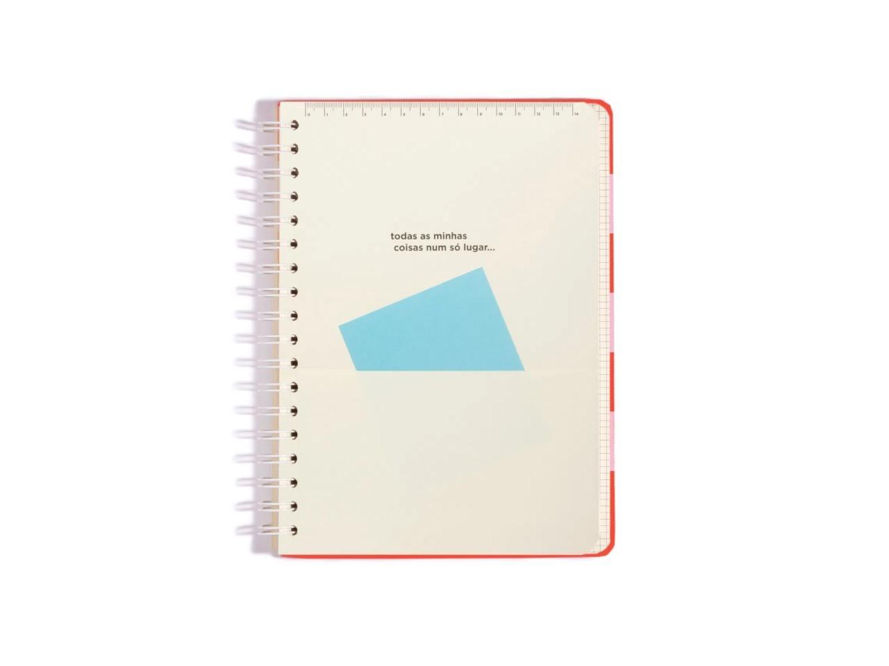 Caderno Todas Juntas Pontado Colegial