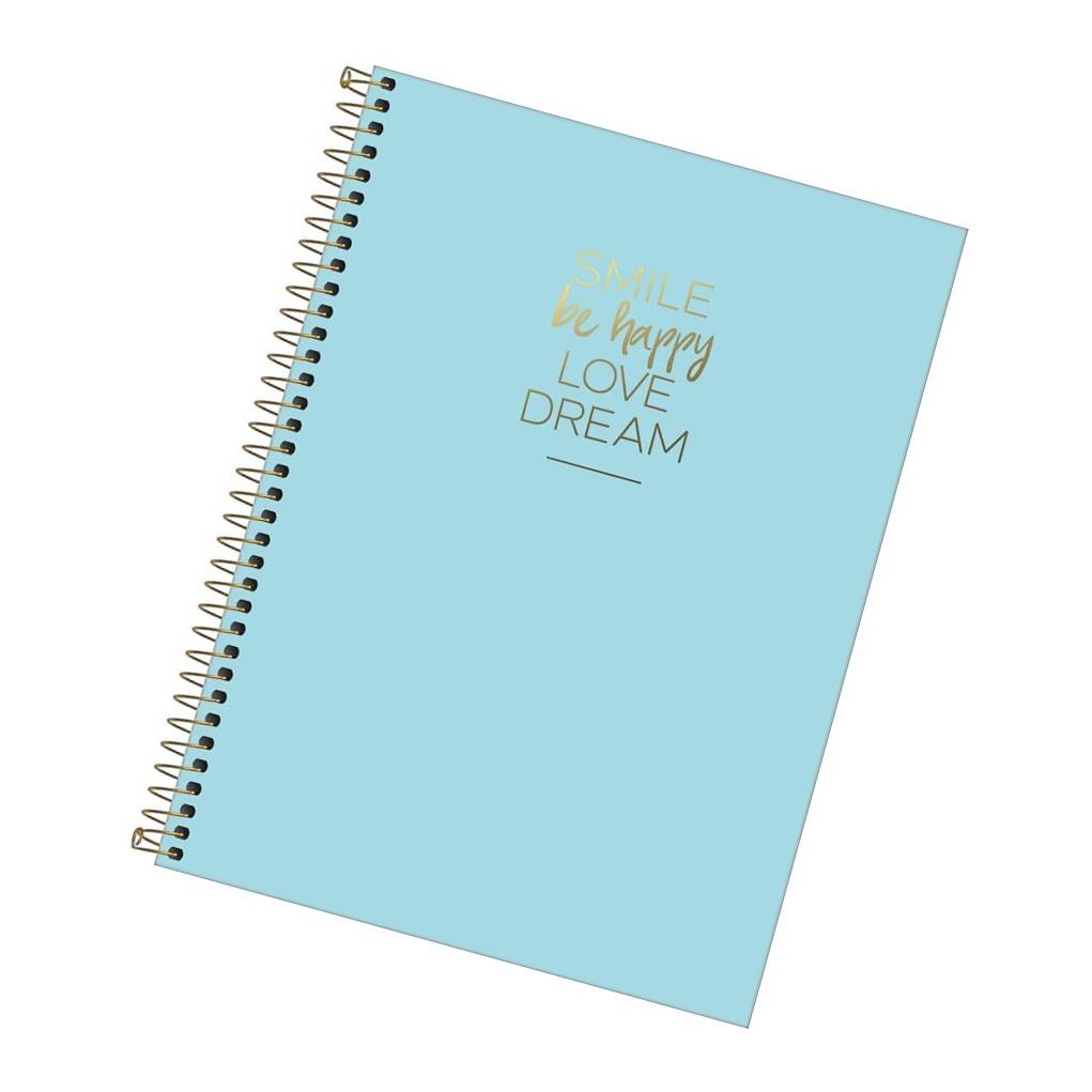Caderno Universitário 80fls Azul
