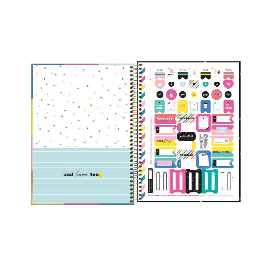 Caderno Universitário 80fls Be Nice 3