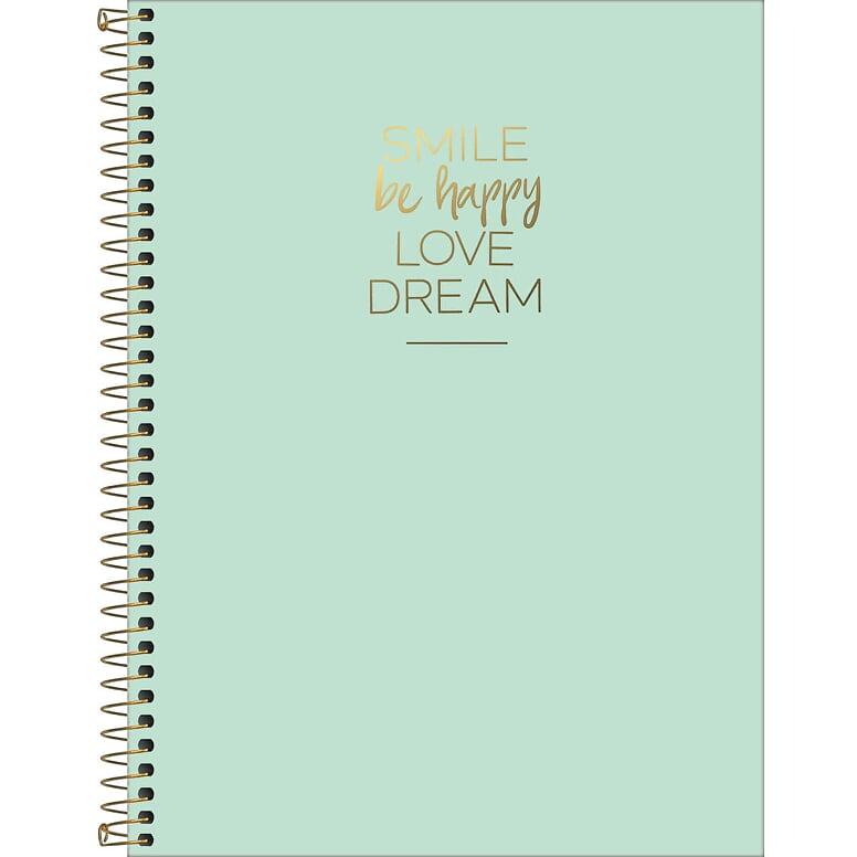 Caderno Universitário 80fls Verde