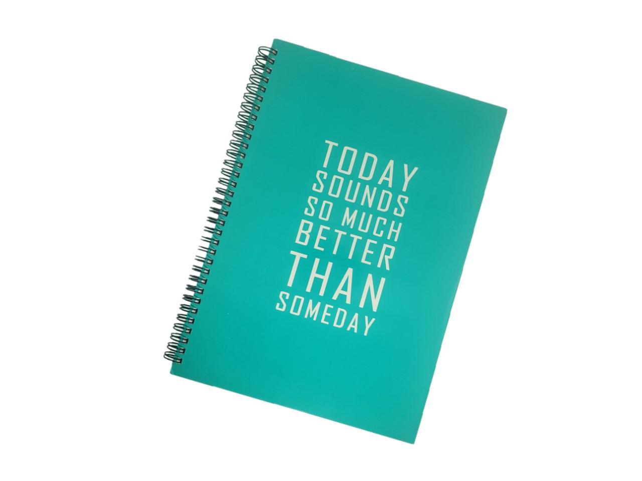 Caderno Verde Universitário Today