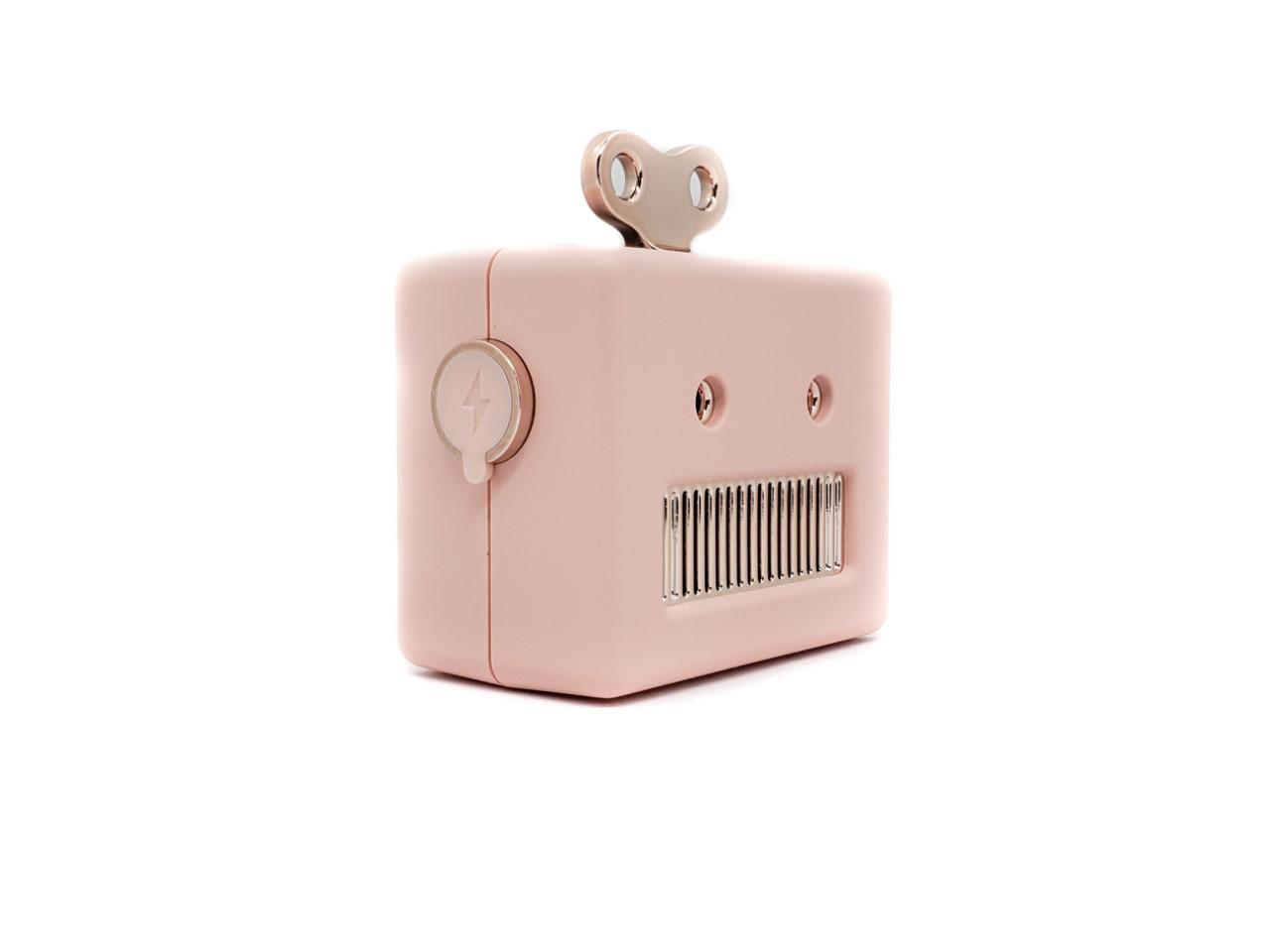 Caixa de Som Robot Bluetooth - Pink
