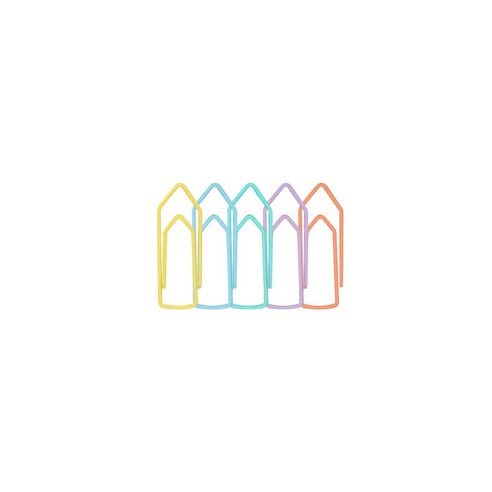 Clips Pastel -50 un