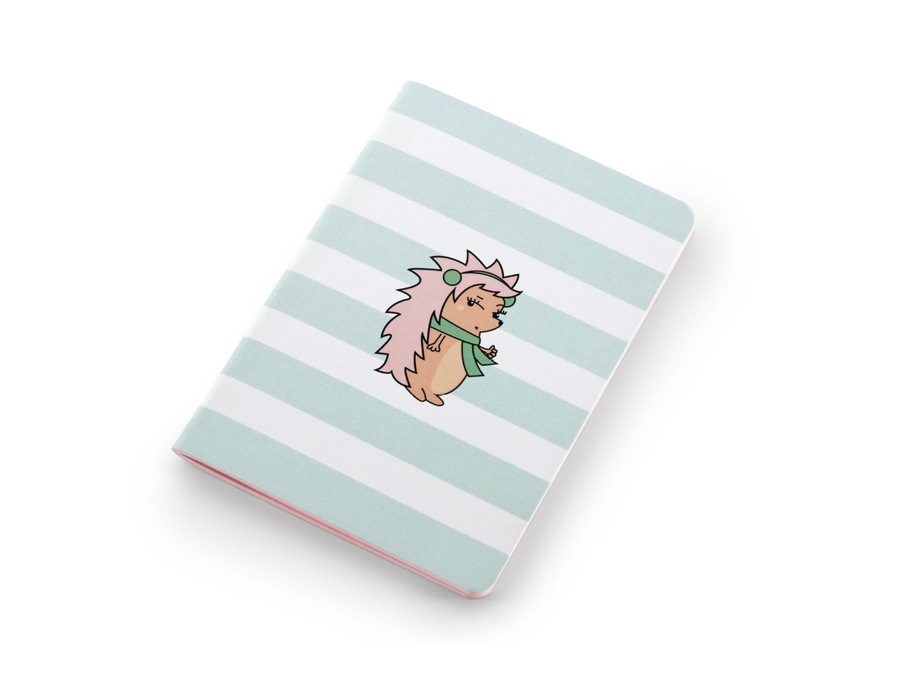 Conjunto 3 Journals Mini Riccio 40 Fls Coloridas