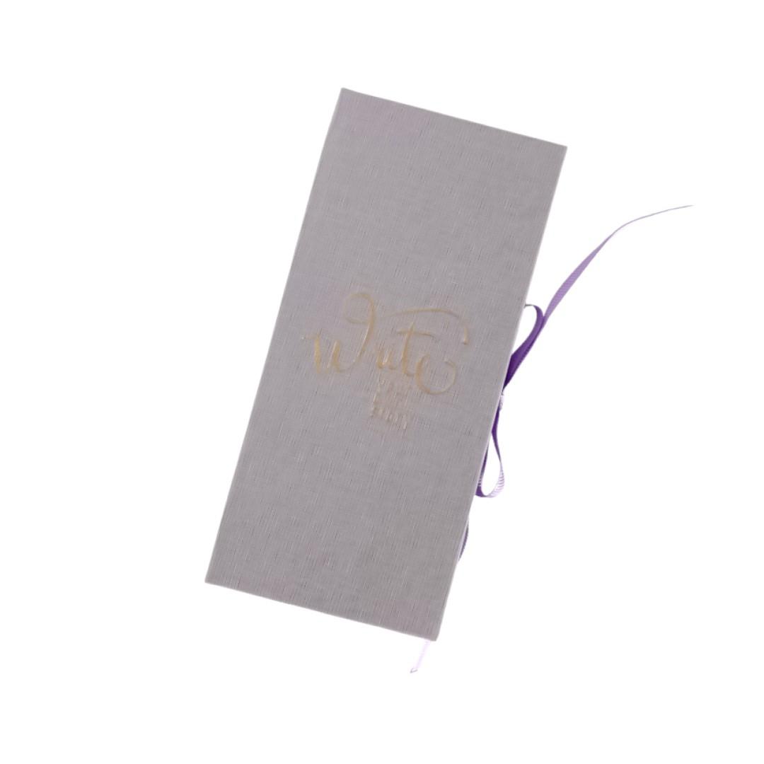 Conjunto Cotton 4 Sticky Notes Lilás
