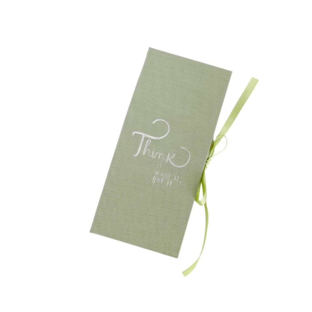 Conjunto Cotton 4 Sticky Notes Verde