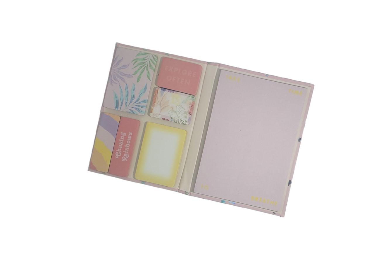 Conjunto Sticky Note Pink