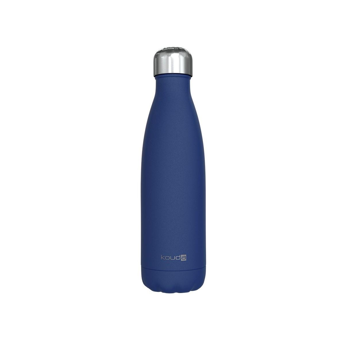 Garrafa Kouda 500ml Azul Powder Coating