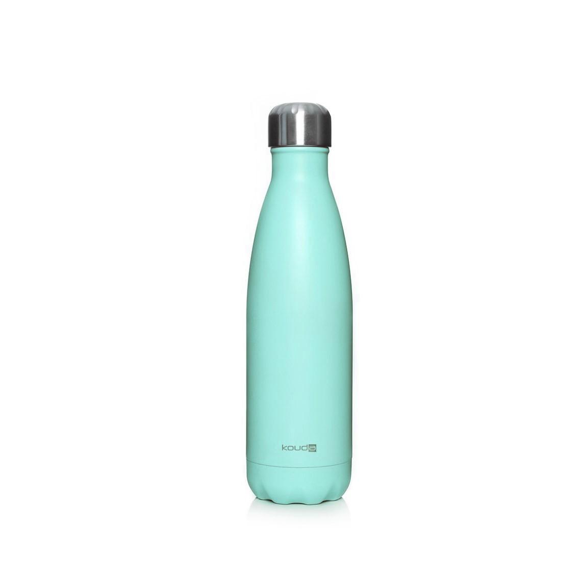 Garrafa Kouda 500ml Verde Agua Powder Coating