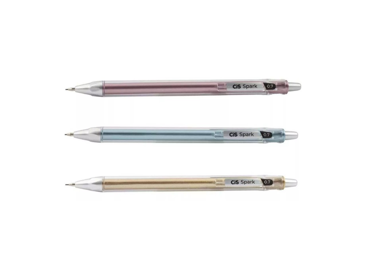 Lapiseira CIS Spark 0,7mm Metálica - Rosa