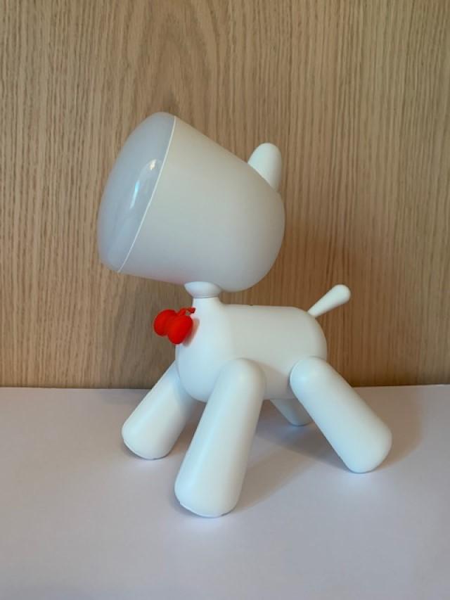 Luminária Cachorro Branca
