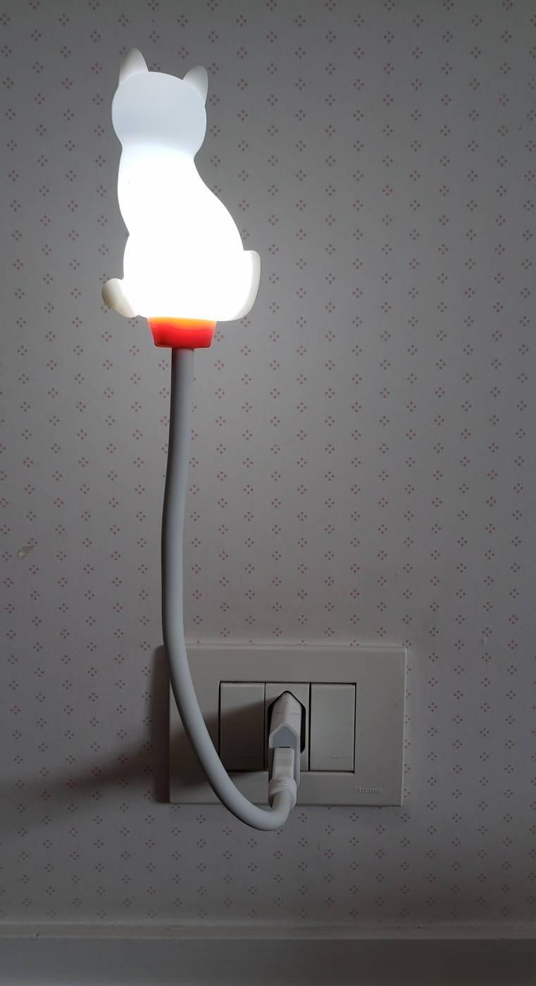 Luminária Flexível de Led Branco