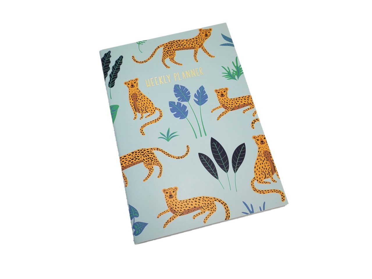 Planner Semanal Animal Print