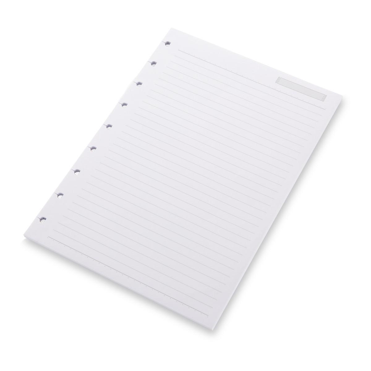 Refil Caderno System Flex Pautado