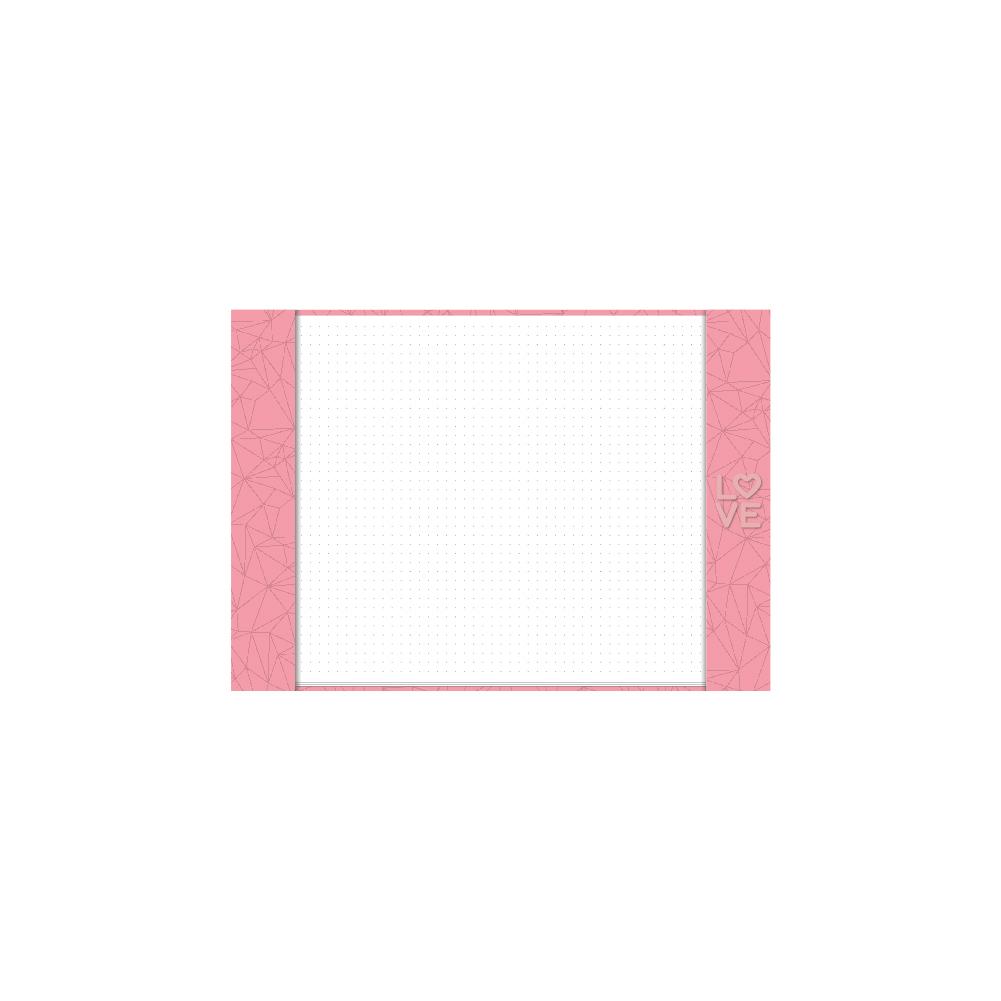 Risque Rabisque A4 Pink Stone Love