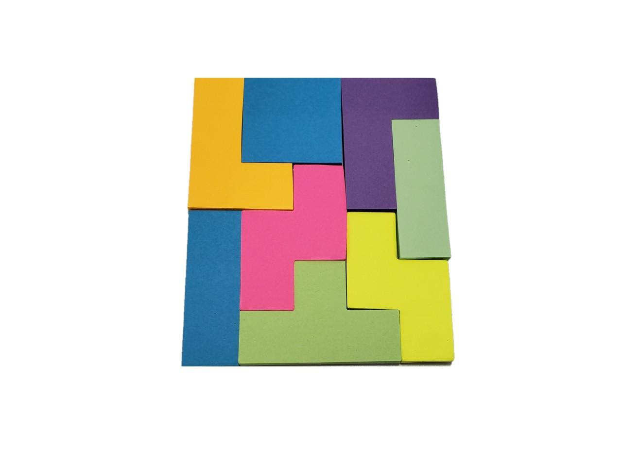 Sticky Note Tetris