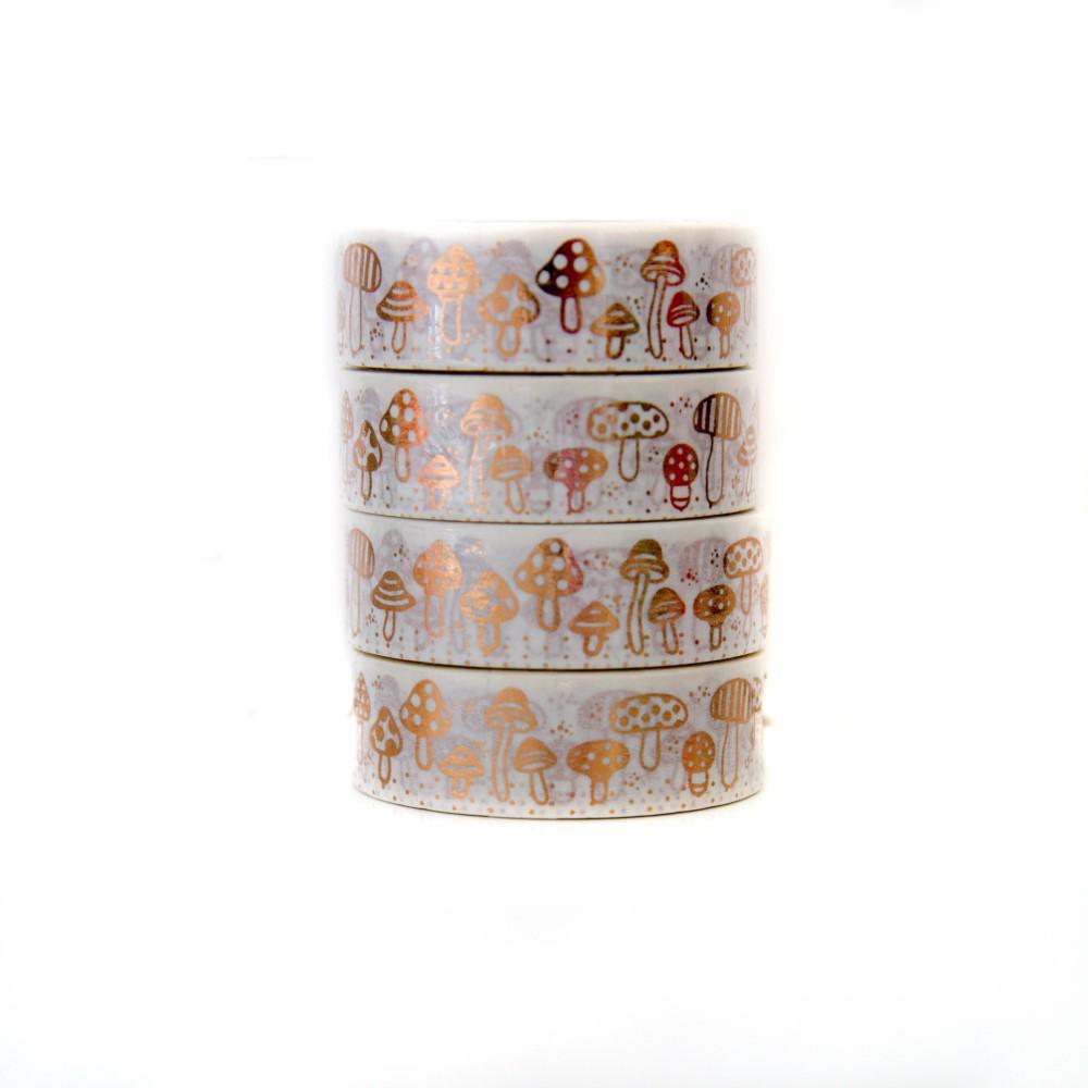 Washi Tape Cogumelos