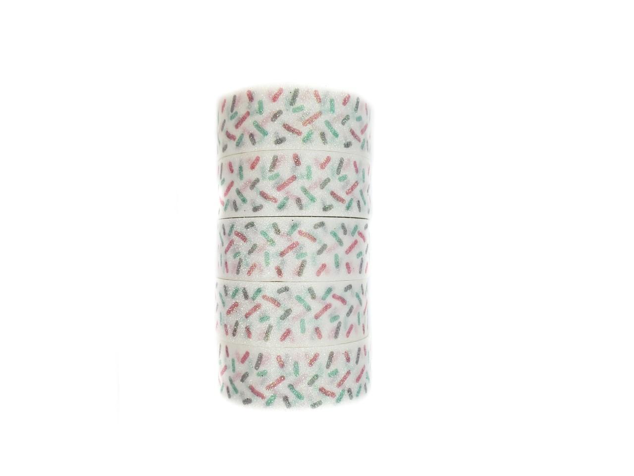 Washi tape Granulado com glitter