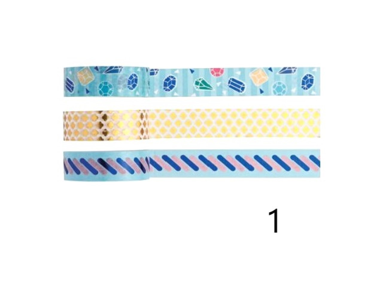 Washi Tape Love - Kit com 3 - 1