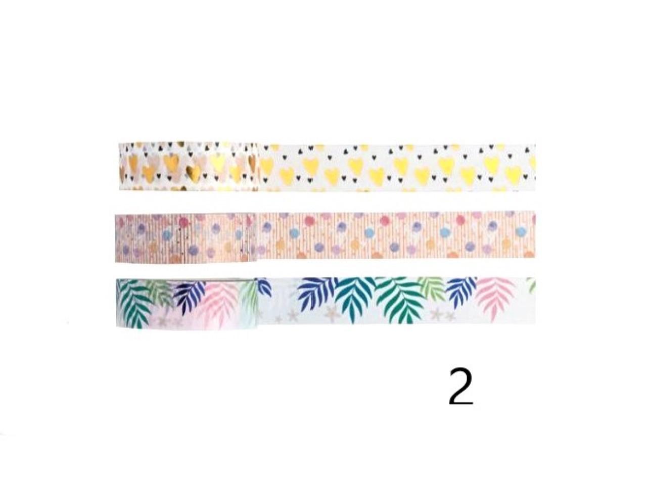 Washi Tape Love - Kit com 3 - 2