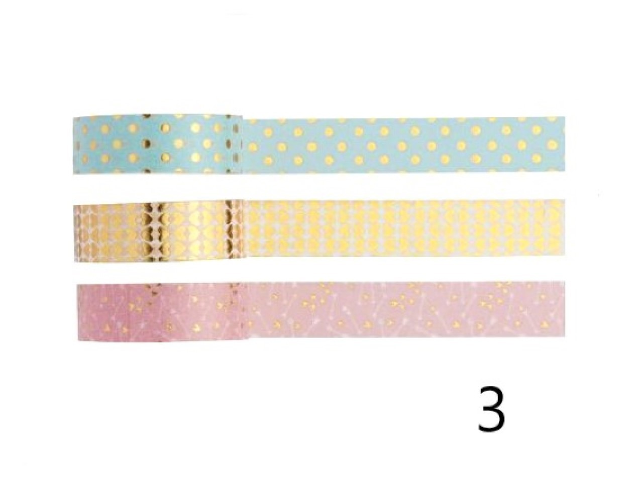 Washi Tape Love - Kit com 3 - 3