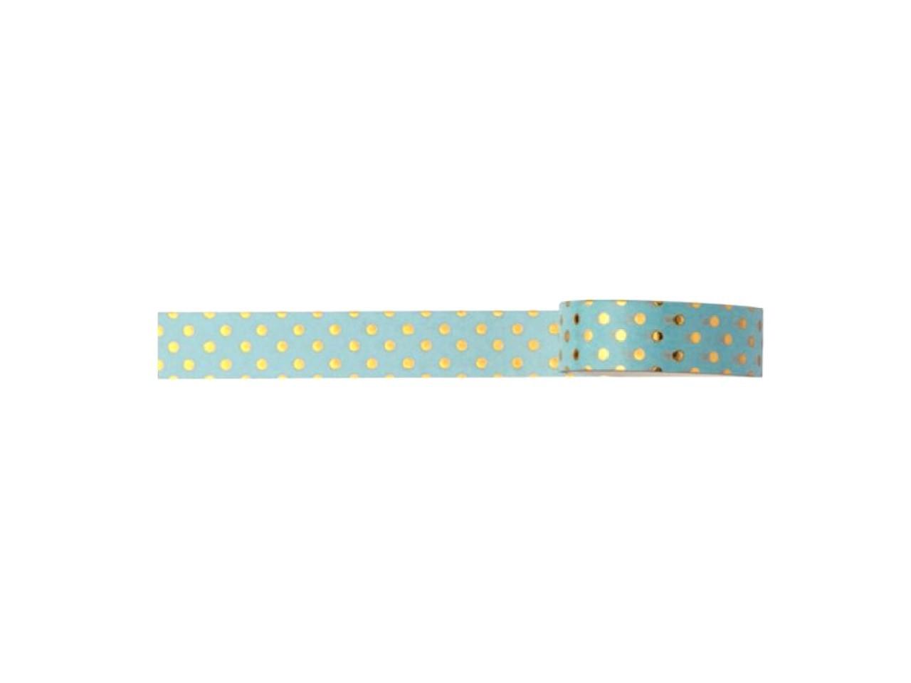 Washi Tape Love Poa Azul
