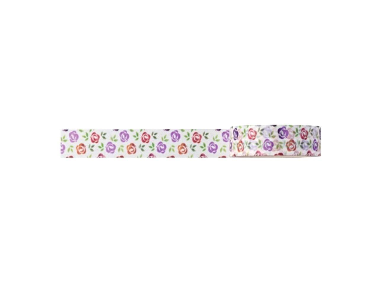 Washi Tape Love Rosas