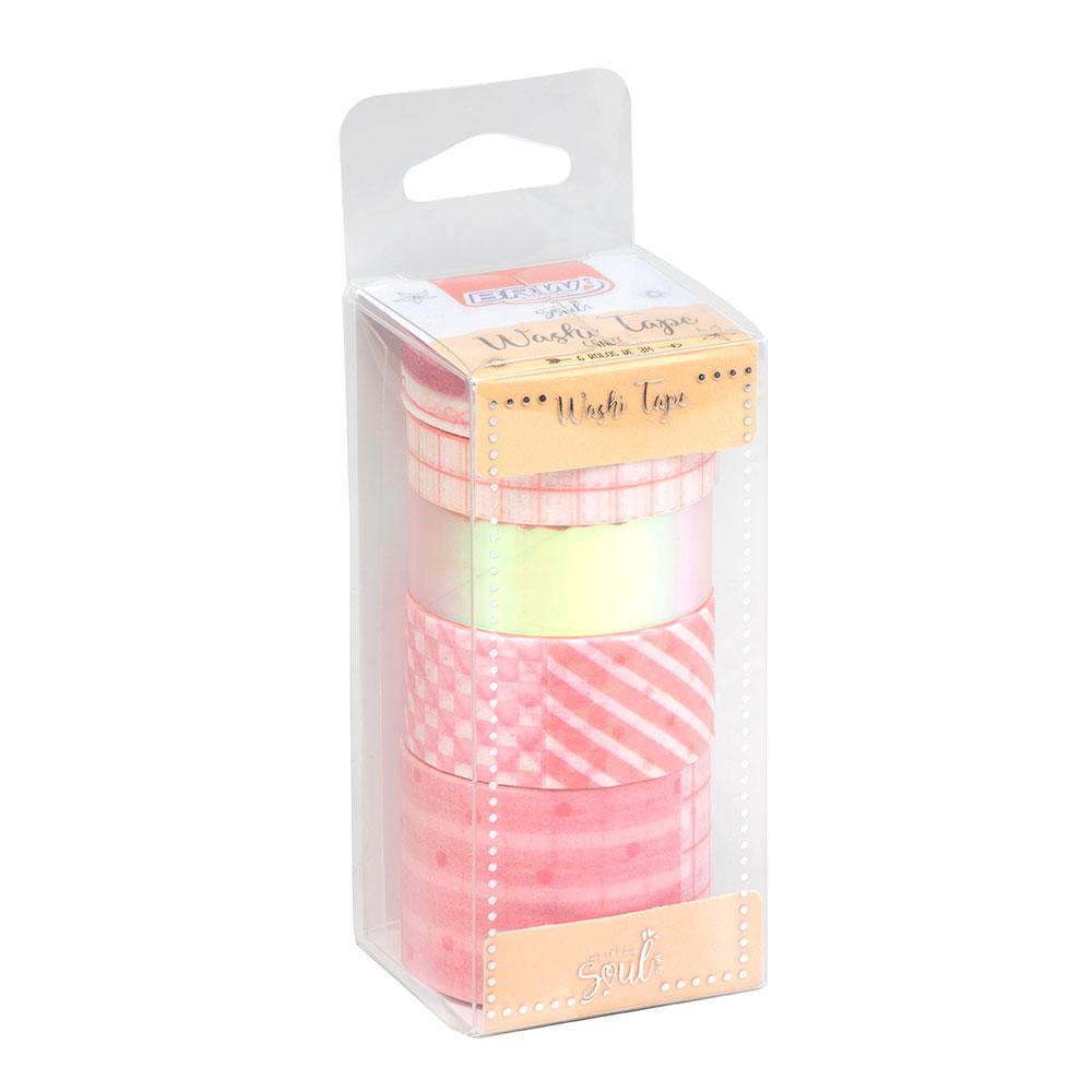 Washi Tape Soul Rosa